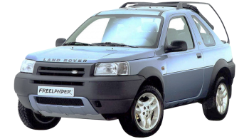 Land Rover Freelander Softback / SUV & Crossover / 3 doors / 2002-2003 / Front-left view