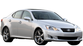 Lexus IS / Sedan / 4 doors / 2009-2013 / Front-right view