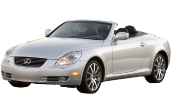 Lexus SC / Convertible / 2 doors / 2001-2010 / Front-left view