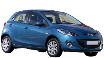 Mazda 2 / Hatchback / 5 doors / 2011-2013 / Front-right view