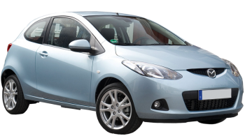Mazda 2 / Hatchback / 3 doors / 2009-2013 / Front-right view