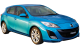 Mazda 3 / Hatchback / 5 doors / 2010-2013 / Front-right view