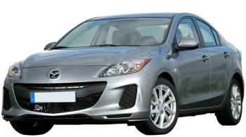 Mazda 3 Sedan / Sedan / 4 doors / 2012-2013 / Front-left view