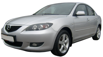 Mazda 3 Sport / Hatchback / 5 doors / 2003-2006 / Front-left view