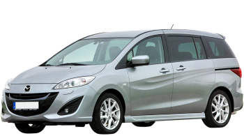 Mazda 5 / Minivan / 5 doors / 2011-2013 / Front-left view