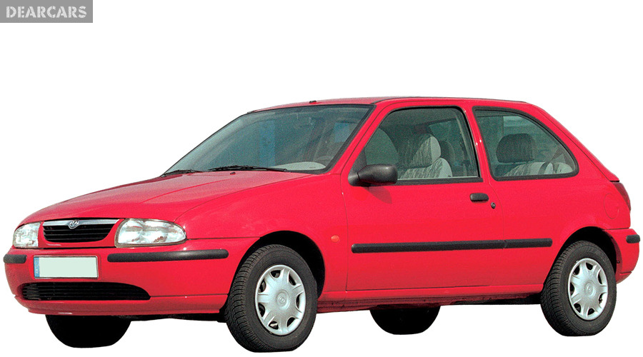 mazda 121 lx hatchback 3 doors 60 hp manual petrol 1996 2000 photos and. Black Bedroom Furniture Sets. Home Design Ideas