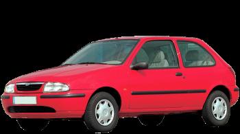 Mazda 121 / Hatchback / 3 doors / 1996-2001 / Front-left view