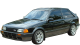 Mazda 323 Coupe / Coupe / 3 doors / 1997-1998 / Front-left view