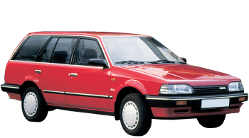 Mazda 323 Estate / Wagon / 5 doors / 1990-1994 / Front-right view