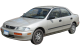 Mazda 323 / Sedan / 4 doors / 1994-1997 / Front-left view