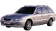 Mazda 626 Wagon / Wagon / 5 doors / 1999-2002 / Front-left view