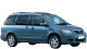 Mazda MPV / Minivan / 5 doors / 2004-2005 / Front-right view
