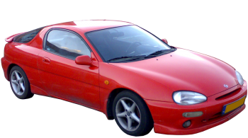 Mazda MX-3 / Coupe / 3 doors / 1991-1998 / Front-right view