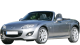 Mazda MX-5 / Convertible / 2 doors / 2009-2013 / Front-left view