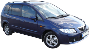 Mazda Premacy / Minivan / 5 doors / 1999-2005 / Front-right view
