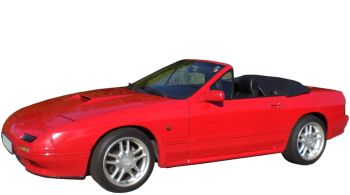 Mazda RX-7 Cabriolet / Convertible / 2 doors / 1990-1992 / Front-left view