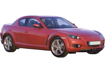 Mazda RX-8 / Coupe / 4 doors / 2003-2008 / Front-right view