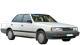 Mazda 929 / Sedan / 4 doors / 1986-1991 / Front-right view
