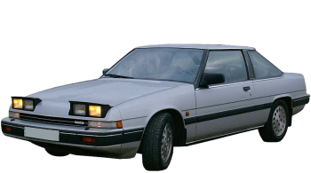 Mazda 929 Coupe / Coupe / 2 doors / 1982-1987 / Front-left view