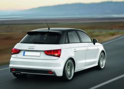 Audi A1 Sportback white color