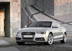 Audi S5 Coupe silver color