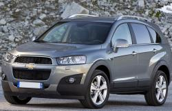 Chevrolet Captiva gray color