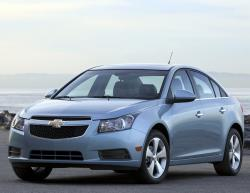 Chevrolet Cruze LTZ blue color