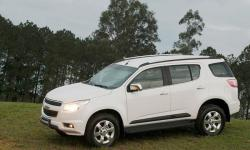 Chevrolet Trailblazer white color