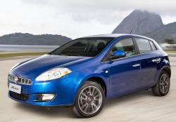 Fiat Bravo dark-blue color