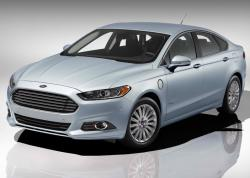 Ford Fusion 2013 blue color