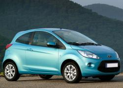 Ford Ka blue color